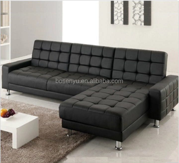 Black And White Leather Sofa Sets,L-shaped Corner Sofa Bed Sets,Sofa And  Bed 2 In 1 - Buy White Leather Sofa Sets,L-shaped Corner Sofa Bed Sets,Sofa  ...