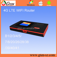 Portable 4G LTE wifi dongle 150Mbps USB modem ZTE chipset 4G wifi router Supply LTE band customization