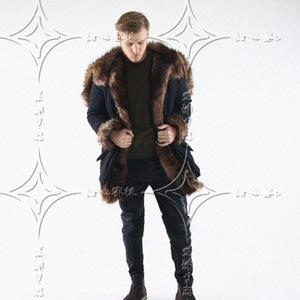 Factory Men Long Winter Coat With Collar With Great Price