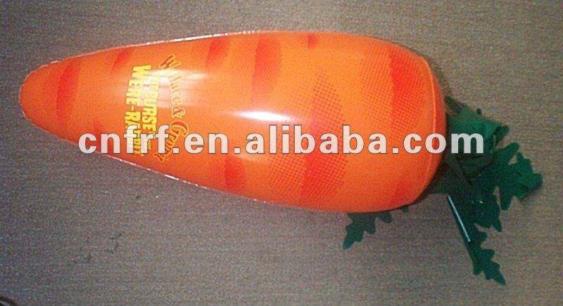 Inflatable Carrot Vegetable