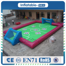 Hot Sale 0.9mm Inflatable Football Playground/Inflatable Water Soccer Field/Inflatable Soap Football Field