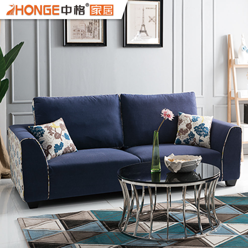 Drawing Room Furniture Armrest Sectional Modern Fabric Navy Blue Sofa Sets  For Living Room - Buy Sofa Sets For Living Room,Navy Blue Sofa,Modern ...