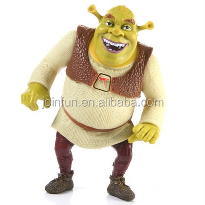 OEM Shrek vinyl figure toys,Collectible vinyl figure toys, Customized vinyl figure toy