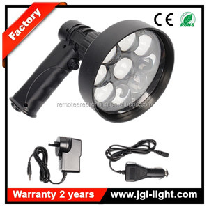 Factory outlet EAGLEYE 27W LED Handheld Spotlight 2200lm Rechargeable Spotlight Hunting Shooting Camping Fishing