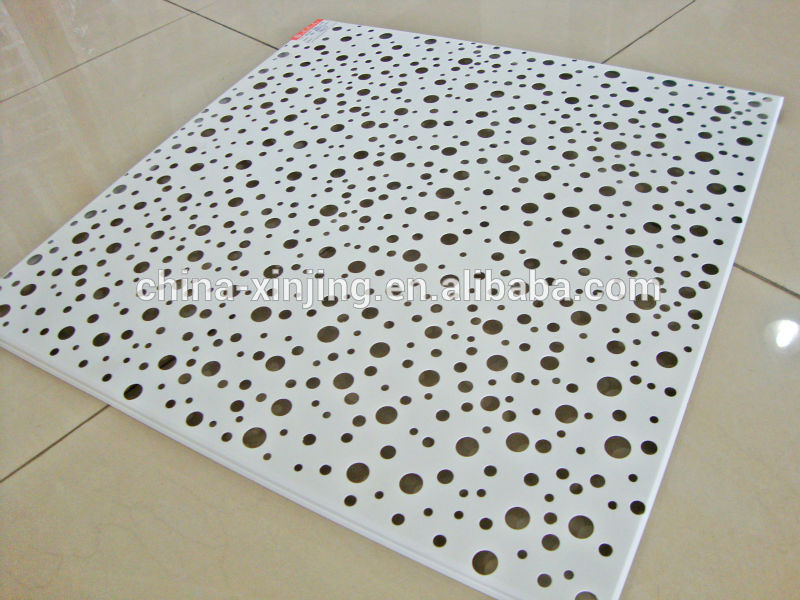 All Kinds Of Pattern Round Holes Perforated Metal Ceiling