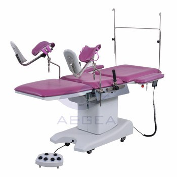 AG-C203A hospital gynecology obstetric multi-function birthing table