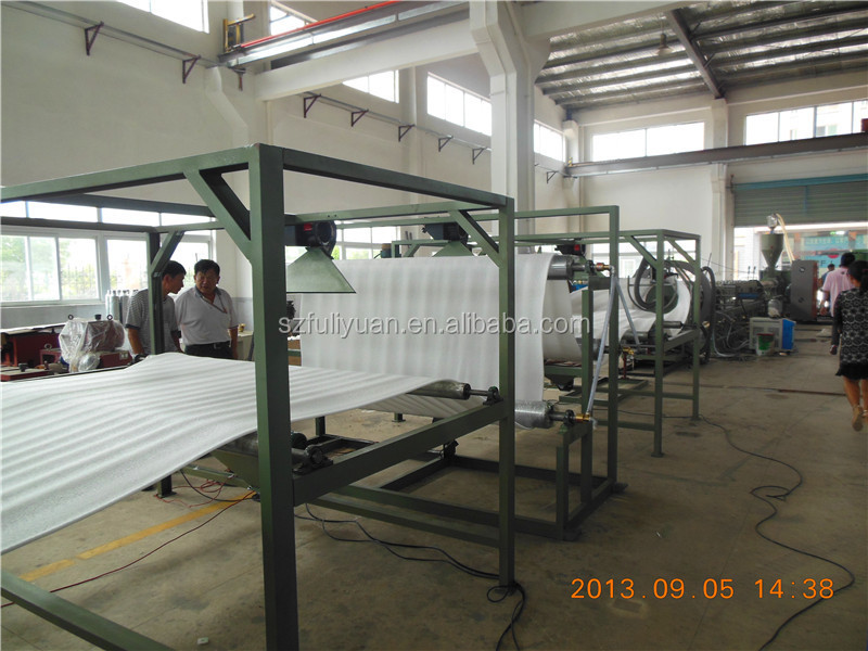 Machinery Plastic EPE Foam Extruder For Making Expanded PE Foam