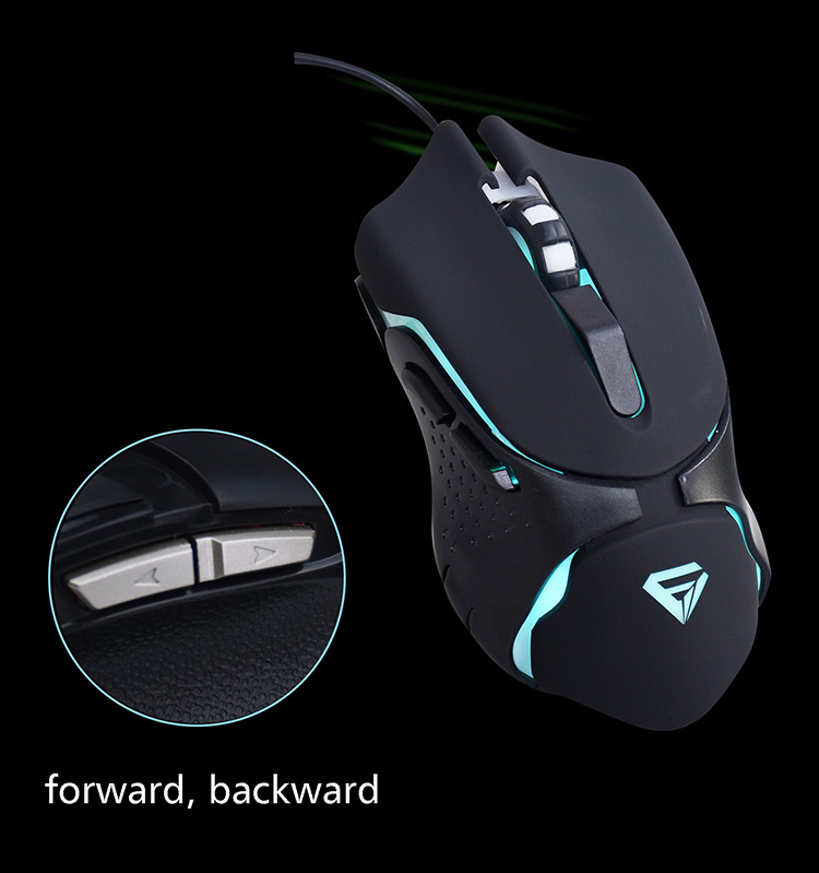 Hot selling oem brand led light wired good pro gamer mouse