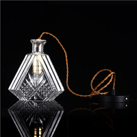 Japanese home goods cheap bottle shape glass lamp shades
