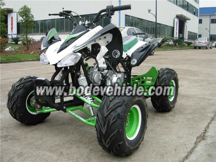 Kids Atv Quads 110cc Mini Atv Kawasaki Style - Buy Kawasaki Quad Atv