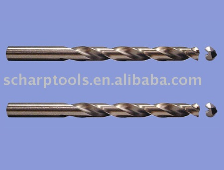 Carbide brazed drill bits T.C.T. drills