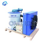 OMT Fresh water Flake ice maker 2Ton Flake ice machine for fish cooling