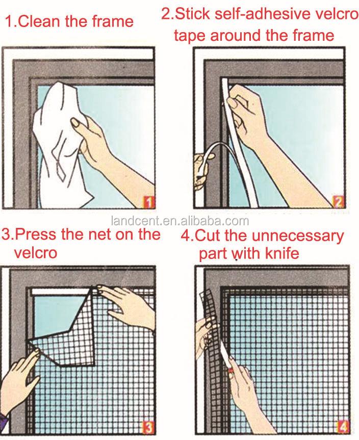 Removable Window Mosquito NetDIY Roller Net