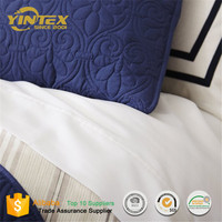 Customize Deisgn 500 Thread Count Stripe Flat Bed Sheets