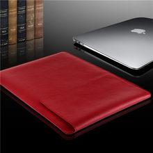 GOLP Универсальный искусственная кожа Мягкая рукава сумка чехол для for Macbook Air Pro retina 11 12 13 15 для ноутбука крышка для for Macbook air 13,3 дюймов(Китай)