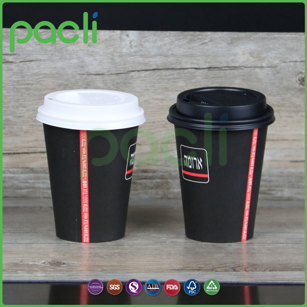 New style disposable clear paper cup blanks