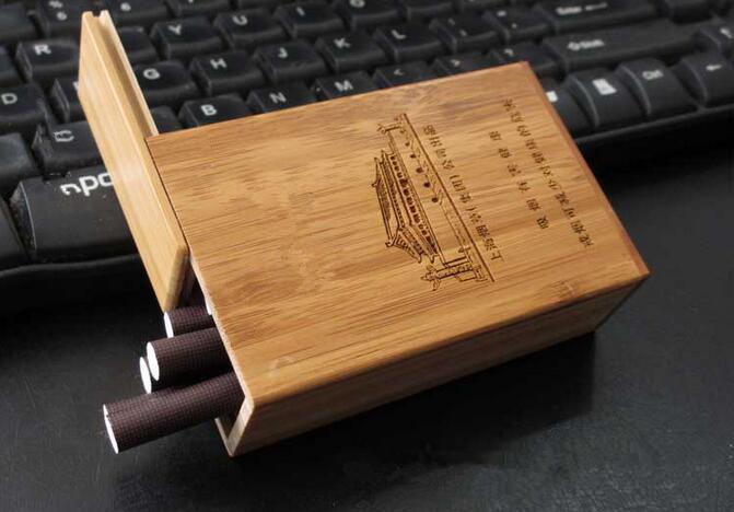 Bambu Pengemasan Disesuaikan Kotak Rokok - Buy Bambu ...