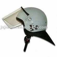 French style whole defensed anti-riot helmet with mask/with anti fog visor/Riot helmet