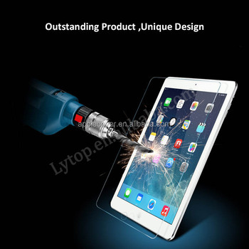 Cheap price Tempered Glass Screen Protector for ipad 2 3 4 air2 , for ipad Screen Protector