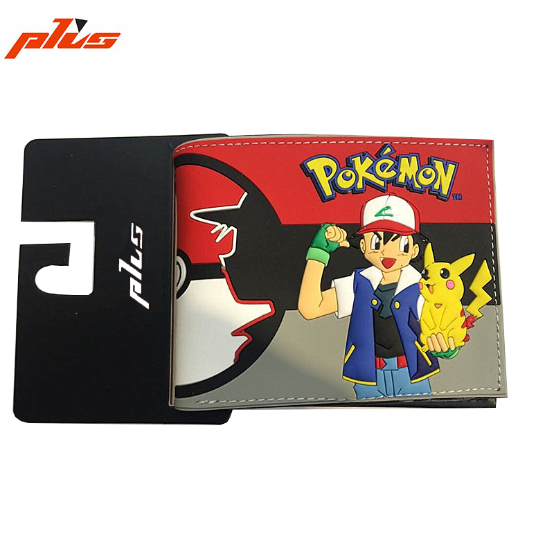Printed PU Leather Bi-Fold Student Cartoon Wallet Flap Closure Cute OEM Kids Wallet