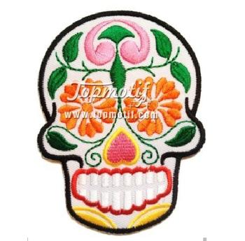 Flower Skull Embroidery Design Buy Embroidery Design Skullskull