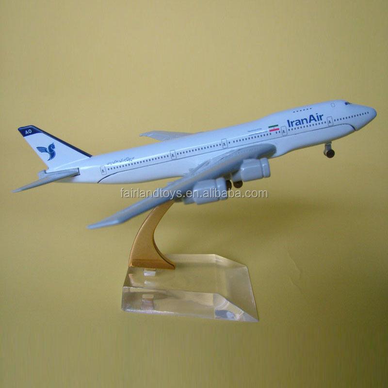 Boeing 747-200 Metal Plane Model