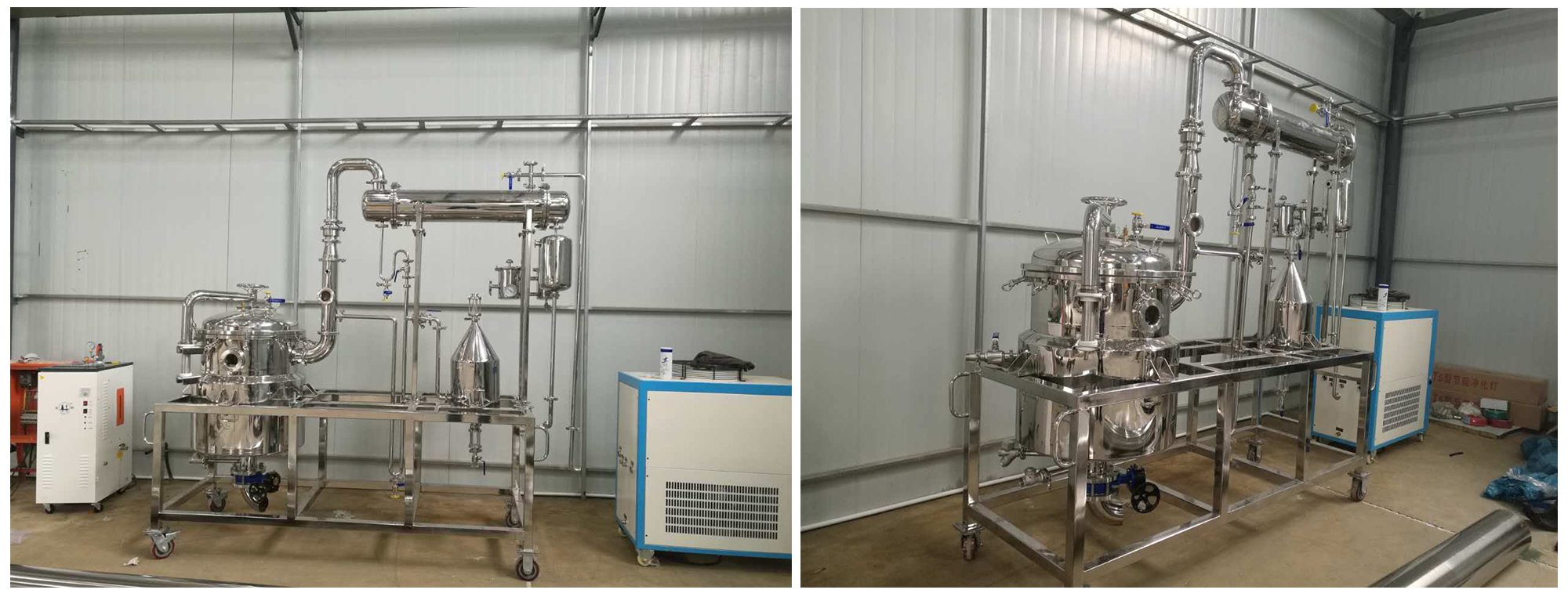 100L essential oil distillation machine on promotion price