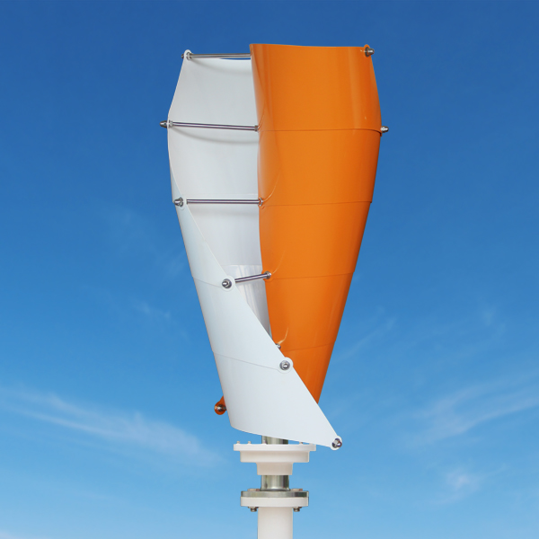 helical vertical axis wind turbine, helical vertical axis