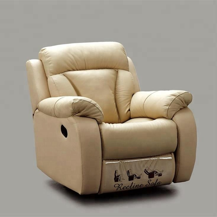 Italy Leather Recliner Sofa Set