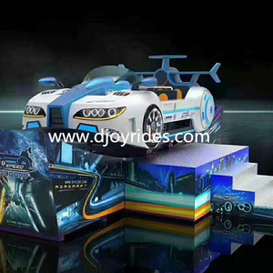 Exciting amusement park flying car, outdoor interesting flying car for children