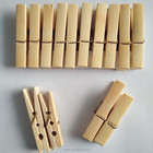 Eco-friendly bamboo clothes pin clothing clip clothes clam
