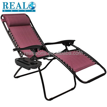Hot Lightweight Aluminum Folding Beach Chair Canvas Director Zero Gravity Fishing Deck