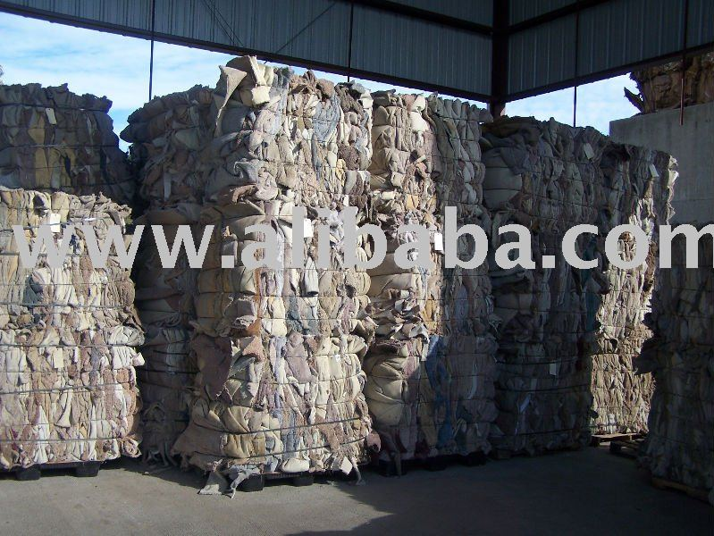 Scrap Carpets, Sorted PA66, PA6, PET