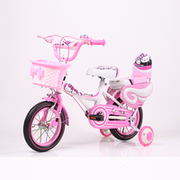 New design 12/14/16 inch pink color kids bike/high carbon steel children bicycle