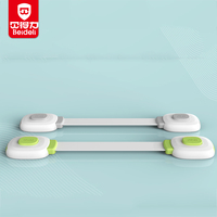 Multi-function baby proofing magnetic cabinet locks child