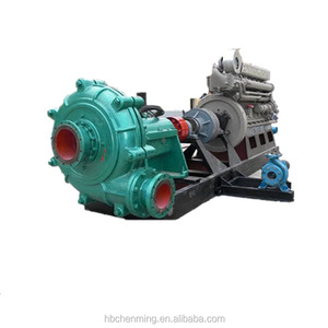 Gold mine centrifugal sand water pump for sand washing