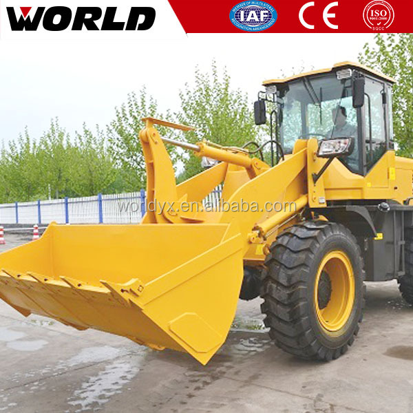 Mini 2ton Small Wheel Loader with Ce and Rops Certification