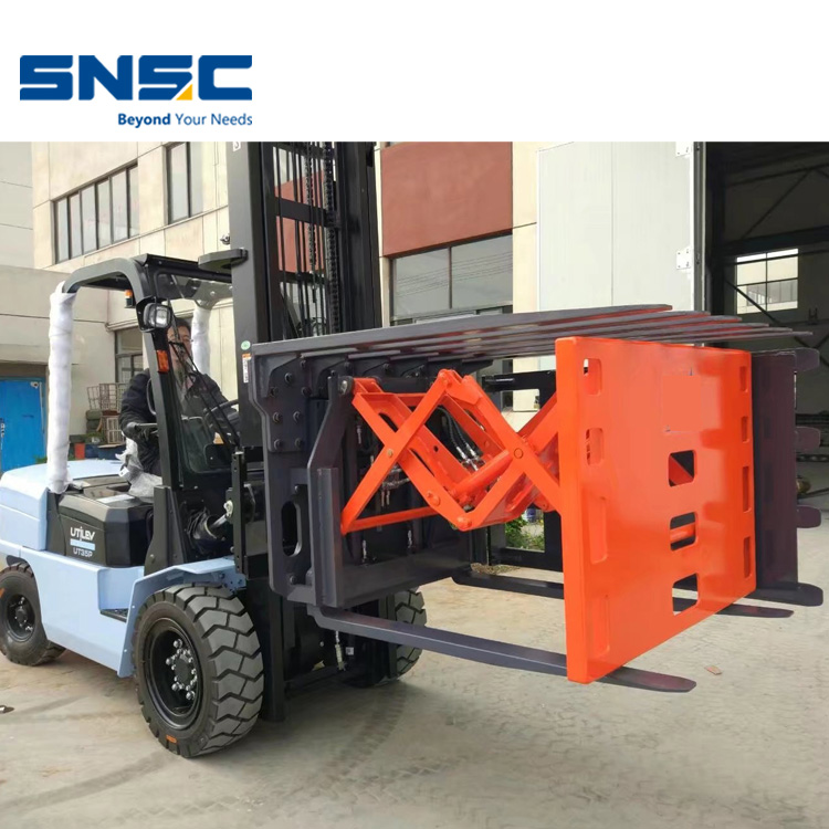 SNSC 3.5 tons diesel forklift FD35 with invert push clamp