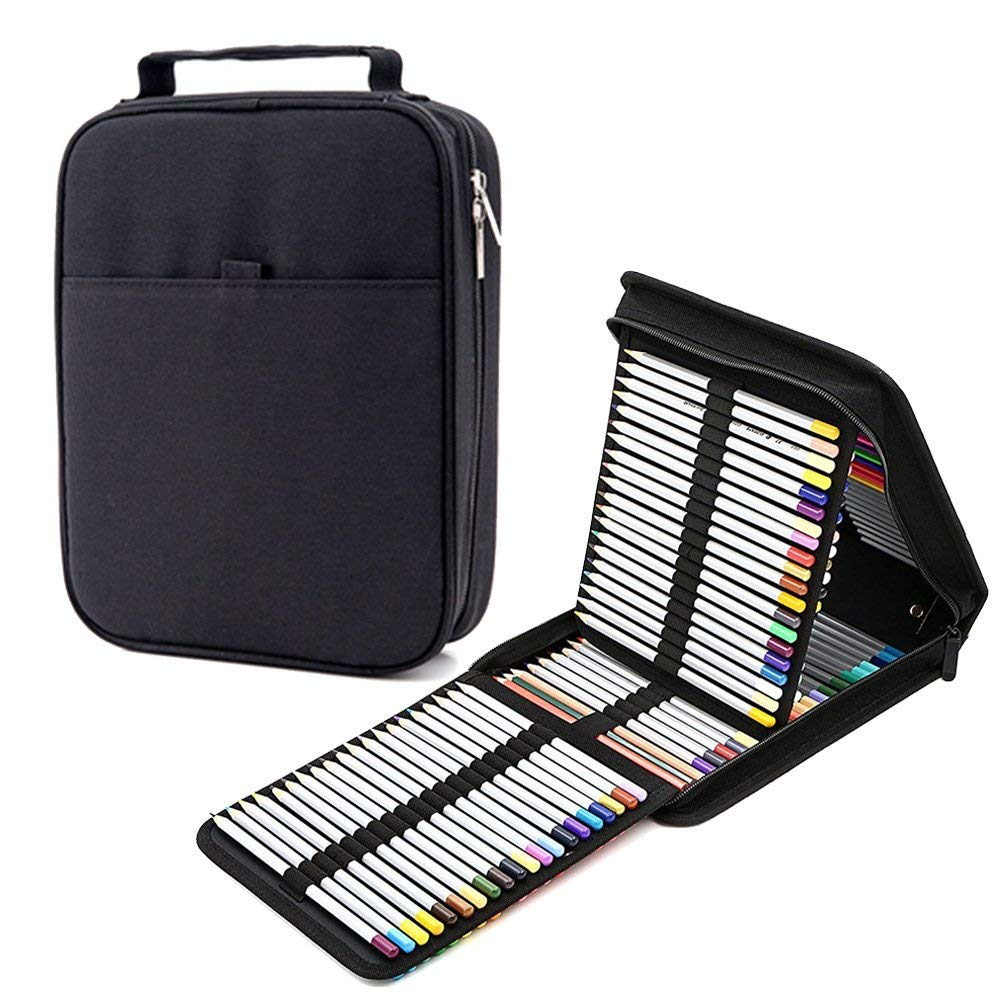 923317b5d940 Buy Pencil Case Holder Slot Organizer Holds 150 Colored Pencil ...