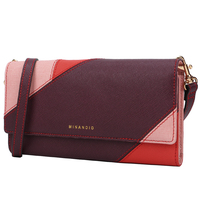 MINANDIO Wholesale handbags for women wallets and bags genuine leather ladies travel purse