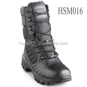 China wholesale price USMC Bates cold winter warm keeping black commander military boots