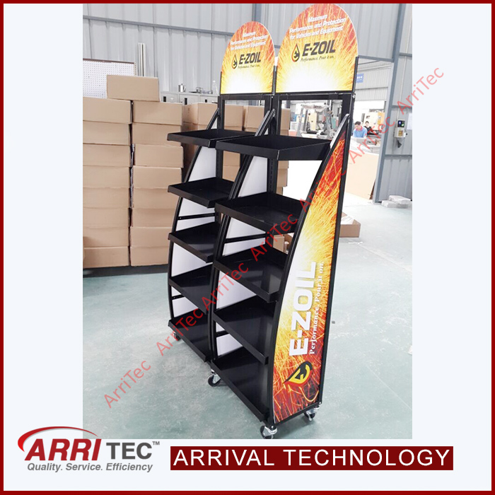 Factory price alibaba china wholesale engine oil rack for Bulk motor oil prices
