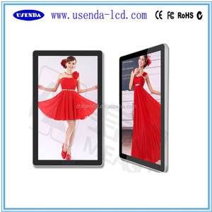 32 42 55 65 inch wall mount android network vertical lcd advertising tv