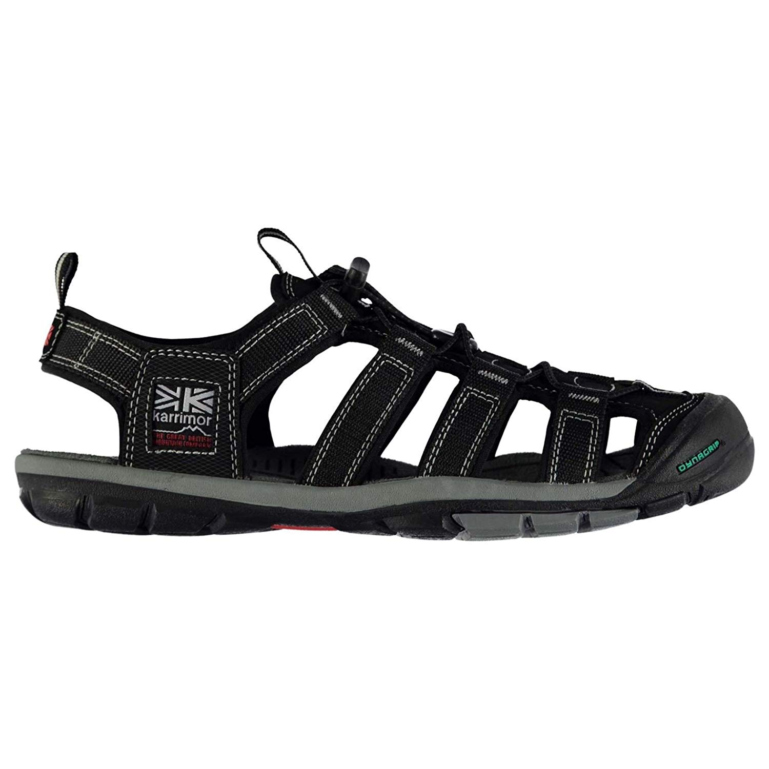 8cc812f38a37 Get Quotations · Karrimor Mens Ithaca Walking Sandals Shoes Lace up Trekking