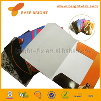 China supplier hard cover handmade paper file folder/decorative paper file storage boxes/paper file making machine