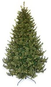 Equinox 2 WDB-111-75 7.5 ft. Prelit Woodbridge Fir Artificial Tree