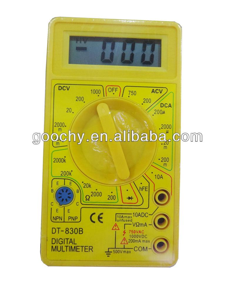 Инструкция digital multimeter dt 830b