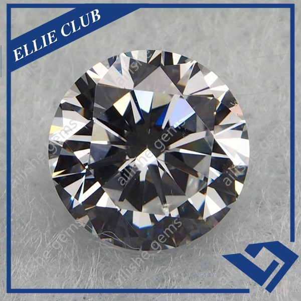Various Colors Stone CZ Zircon Gem in White and Round Shape