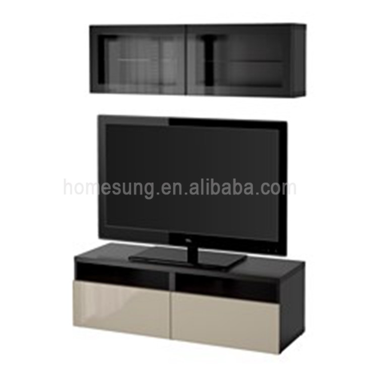 Modern Home Wall Unit Designs Living Room Furniture Lcd Tv Stand ...