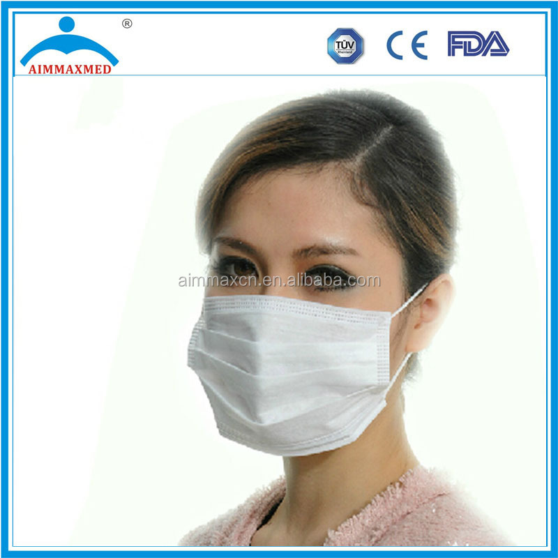 Nose Bar For Face Mask Three Ply Non-Woven Mask Medical Consumable